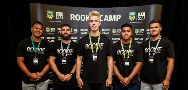 Young Sea Eagles gain plenty from NRL Rookie Camp