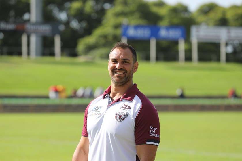 Adam McEwan has made an impressive start to his coaching career at Manly