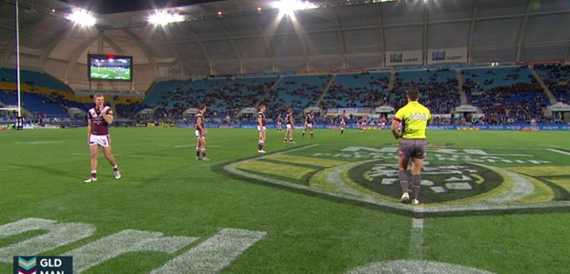 Gold Coast Titans v Manly Warringah Sea Eagles (1st Half) - Round 18, 2015