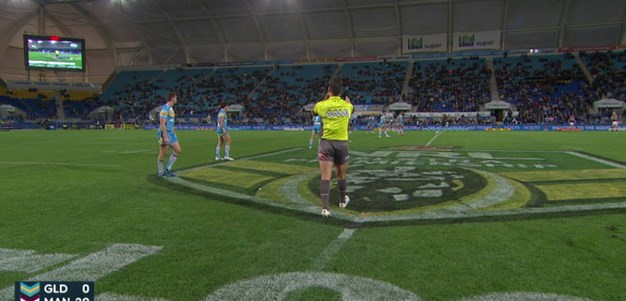 Gold Coast Titans v Manly Warringah Sea Eagles (2nd Half) - Round 18, 2015