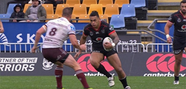 Warriors v Manly Warringah Sea Eagles (2nd Half) - Round 25, 2017
