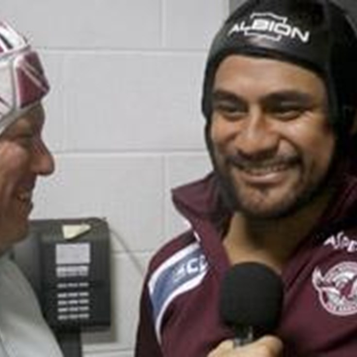 In the sheds with Joe Galuvao - Rd5