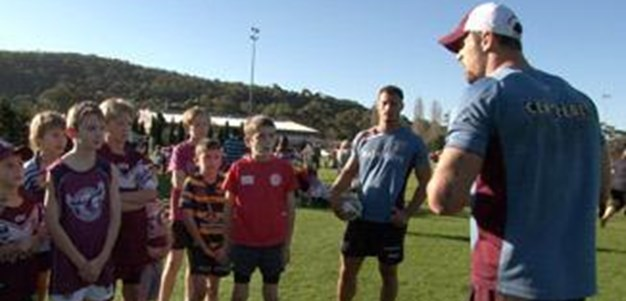 Sea Eagles Junior Member Clinic