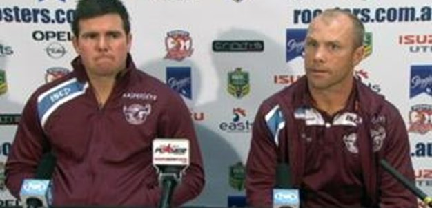 Sea Eagles v Roosters Rd 16 (Press Conference)