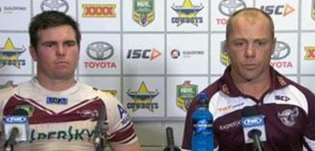Sea Eagles v Cowboys Rd 18 (press conference)