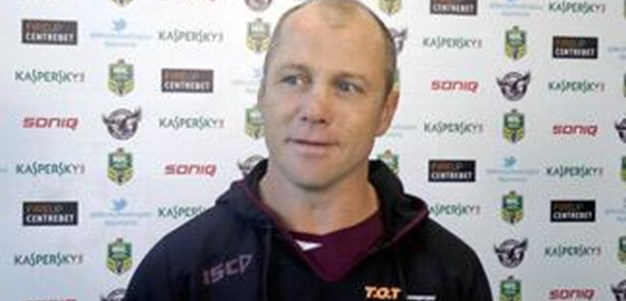 This is a danger game: Toovey
