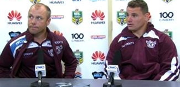 Sea Eagles v Raiders Rd 24 (Press Conference)