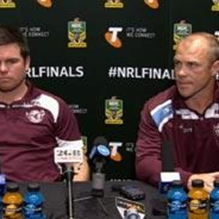 Sea Eagles v Roosters QW1 (Press Conference)