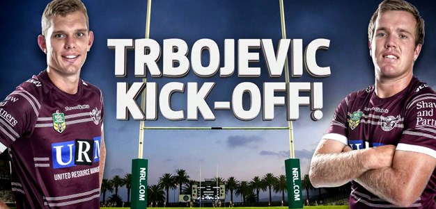 Trbojevic brothers kick-off
