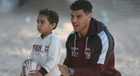 Sea Eagles visit Royal Far West
