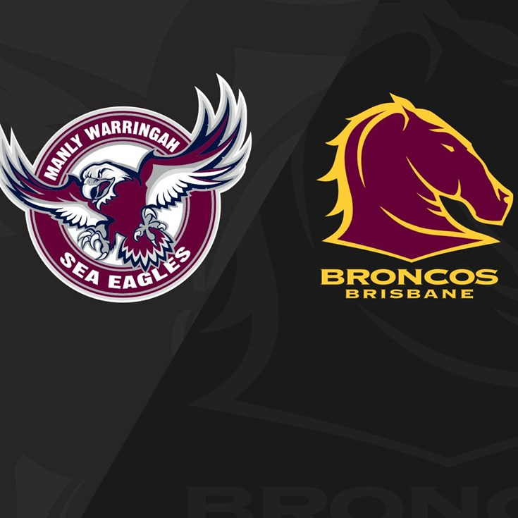 Full Match Replay: Sea Eagles v Broncos - Round 10, 2018