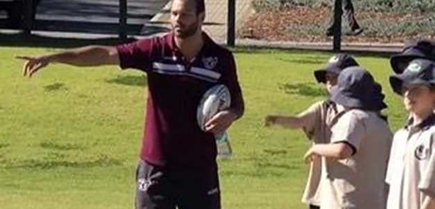Sea Eagles WA coaching clinic