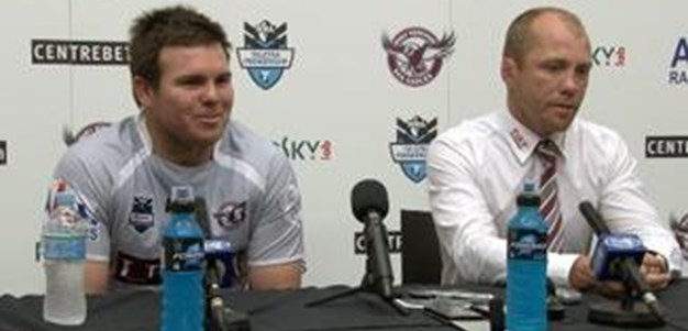 Sea Eagles Round 24 Press Conference