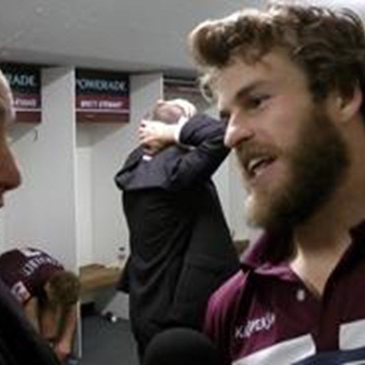 Rd18 in the sheds with Wolfman