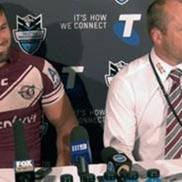 Manly Semi Final Press Conference