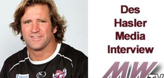 Rd 14 Des Hasler Media Interview