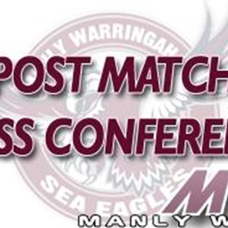 Rd 16 Post Match Press Conference