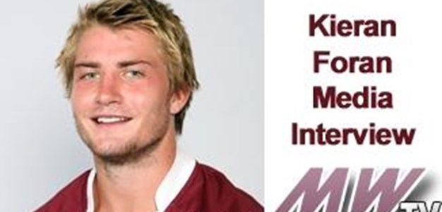 Kieran Foran Media Interview Rd 2