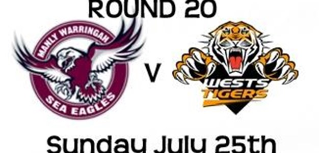 Round 20 v Titans Bluetongue Stadium