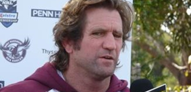 Des Hasler Rd22 Media Interview