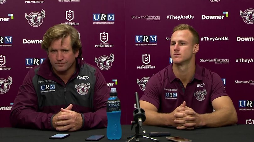 PRESS CONFERENCE | Hear from Des Hasler and Daly Cherry-Evans after tonights win