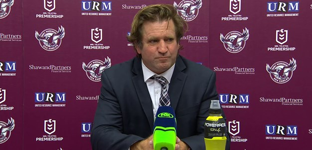 Post match press conference | Des Hasler