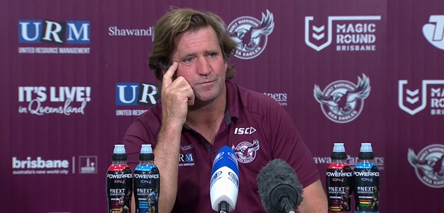 Des Hasler Post Match Press Conference