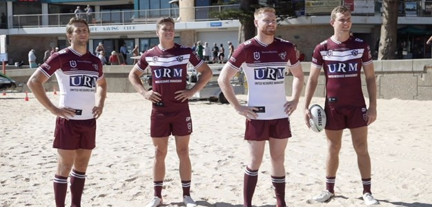 Sea Eagles reveal 2020 jerseys
