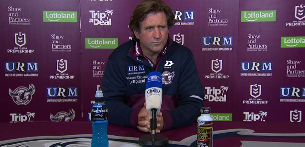 Round 8: Post Match Press Conference
