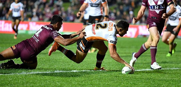 Match Highlights: Sea Eagles v Wests Tigers