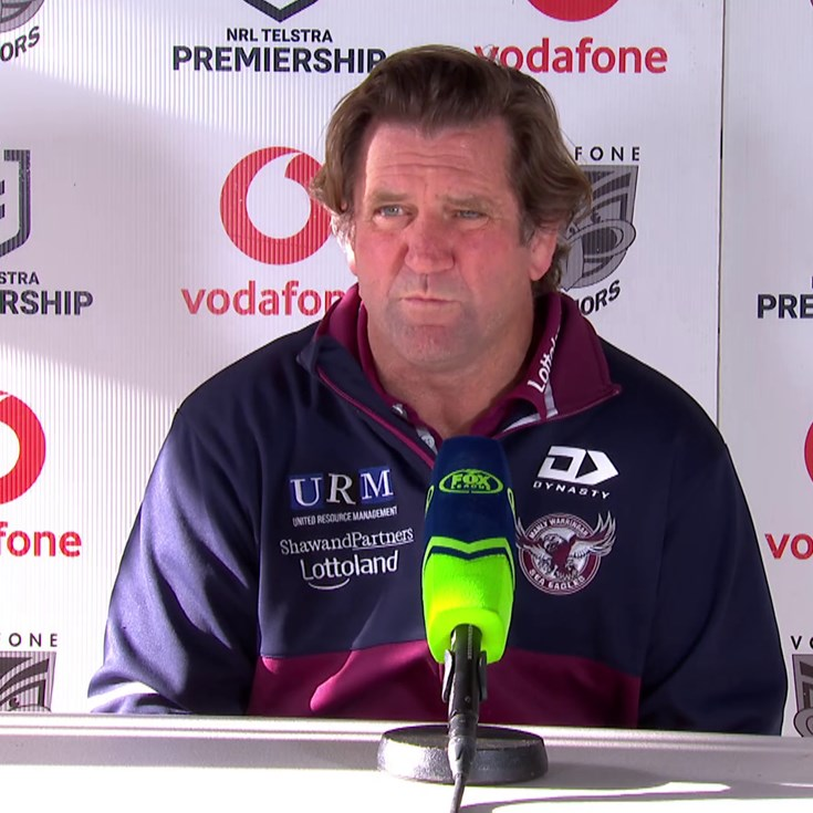 Round 20: Post Match Press Conference