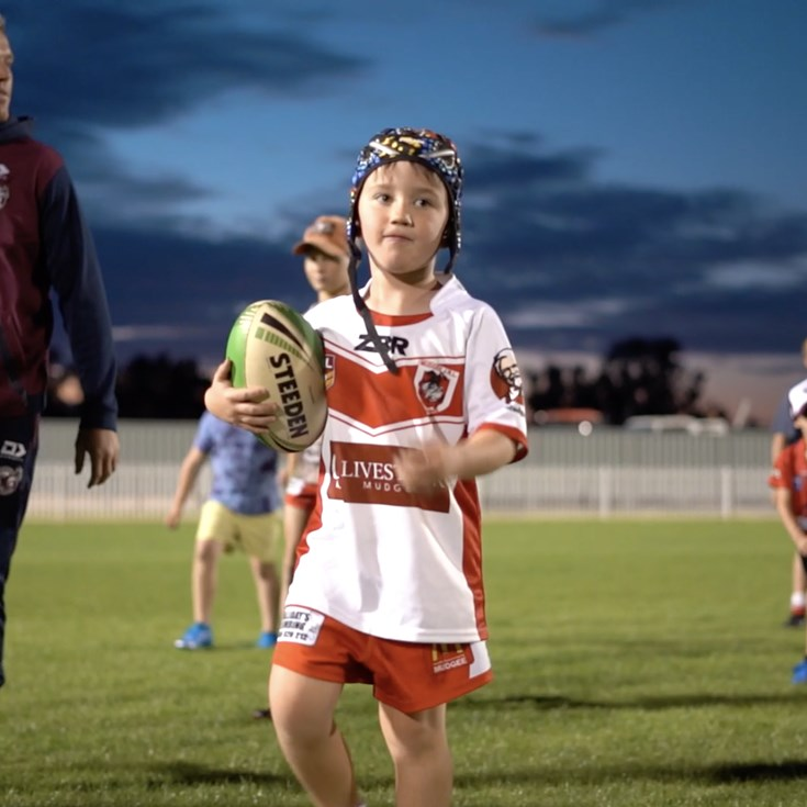 Mudgee Junior Rugby League Clinic