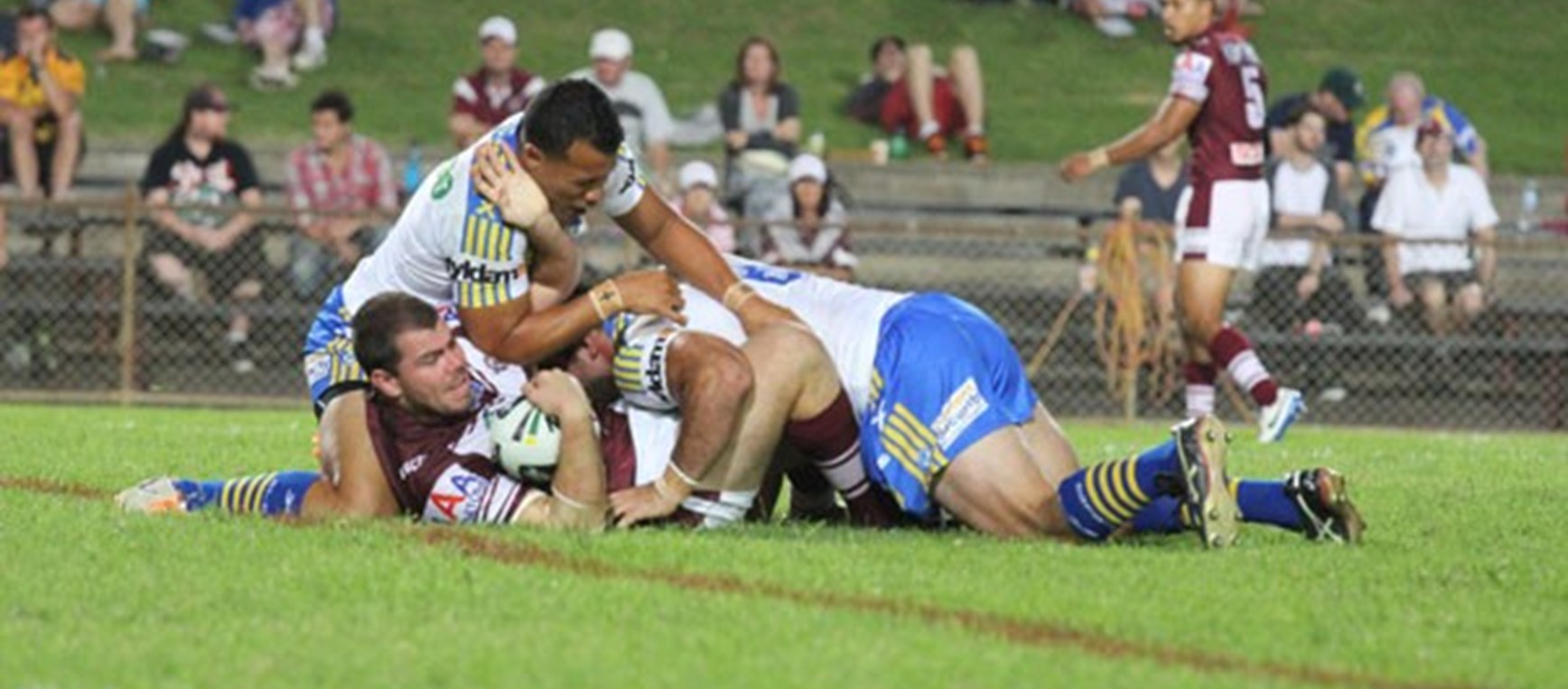 Photo gallery: Sea Eagles v Eels trial