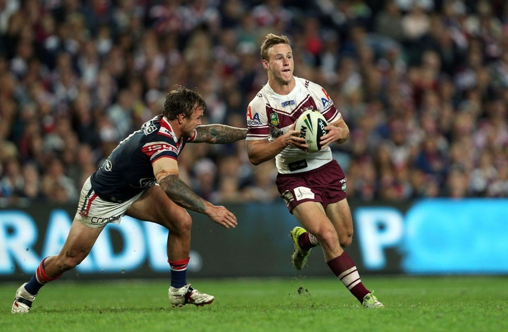 Daly Cherry Evans: NRL Finals Week 1, Roosters v Manly, Allianz Stadium, Saturday 14th September, 2013. Photo: Copyright © Renee McKay/Action Photographics