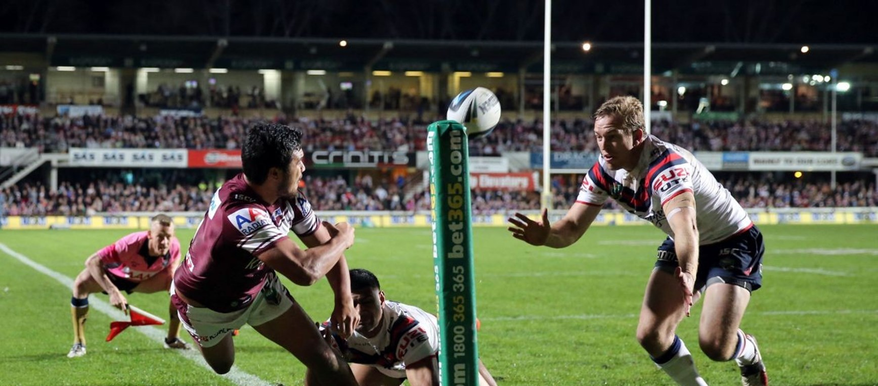 Photo gallery: Sea Eagles v Roosters