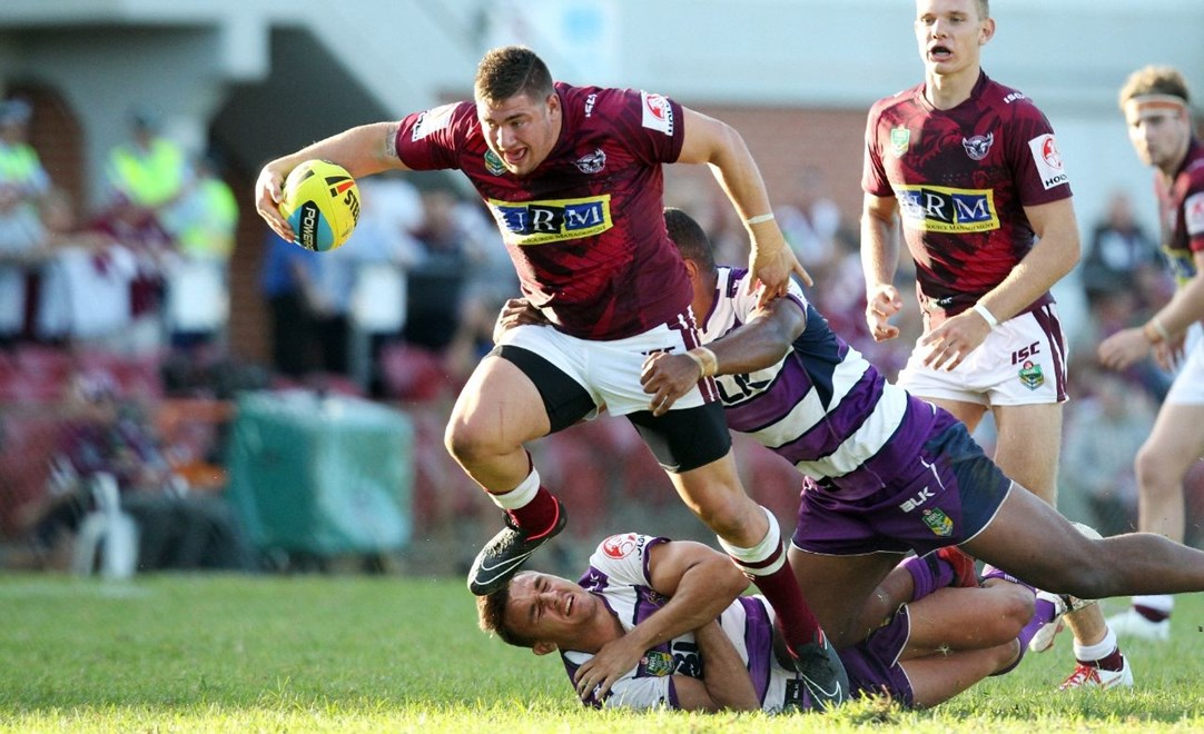 NYC   :Digital Image by Chris Lane © NRLphotos  : 2015 NRL Round 2 – Manly Sea Eagles  V Melbourne Storm  at Brookvale Oval, Saturday March 14th 2015.