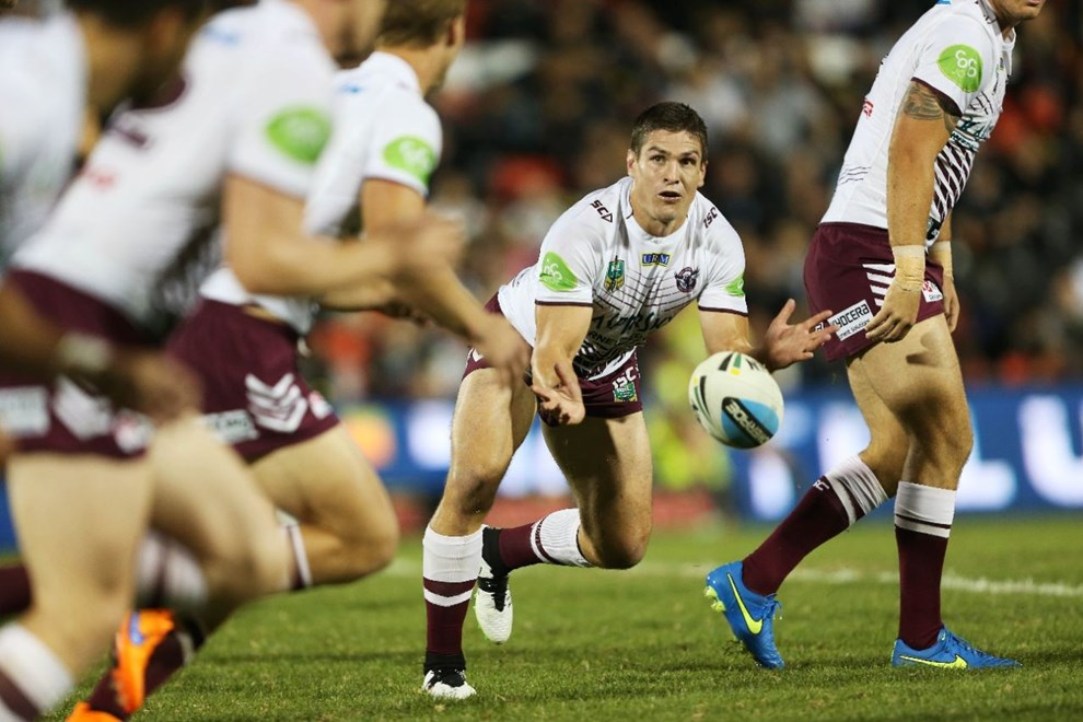 Matt Ballin : Digital Image by Robb Cox ©nrlphotos.com: :NRL Rugby League - Pantehrs V Sea Eagles at Pepper Stadium, Penrith. Saturday April 11th 2015.