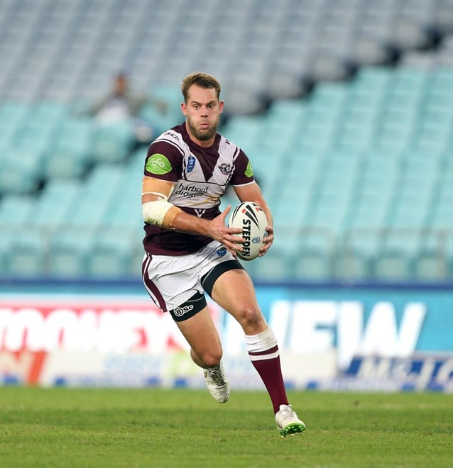 Todd Wilson : Digital Image by Robb Cox ©nrlphotos.com: :NSW Cup Rugby League - Manly V Canterbury at ANZ Stadium, Homebush. Friday April 17th 2015.