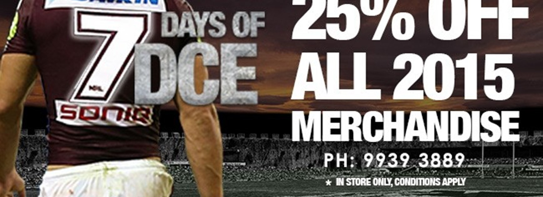 7 days of DCE sale