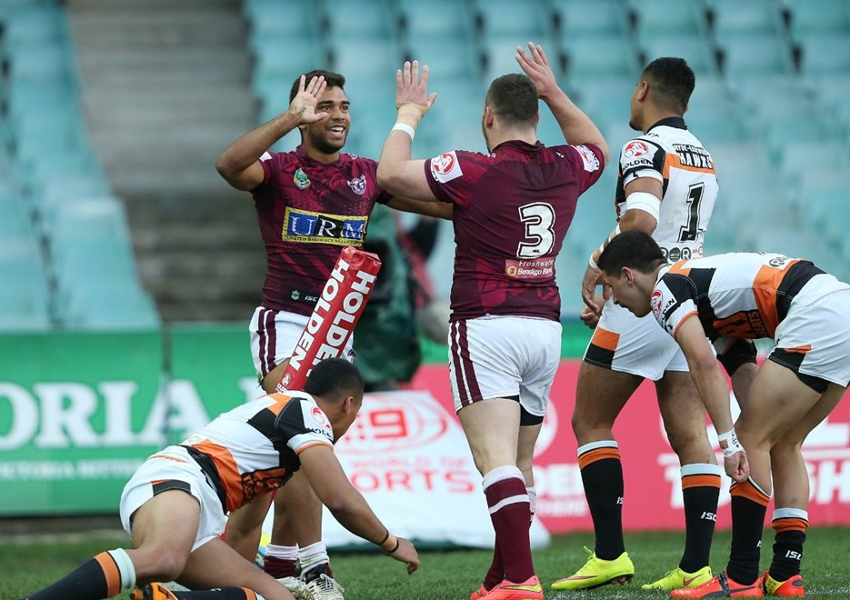 : NYC Rugby League, Sea Eagles V Tigers V Tigers at Allianz Stadium, Friday 18th September 2015. Pic by Robb Cox © NRL Photos
