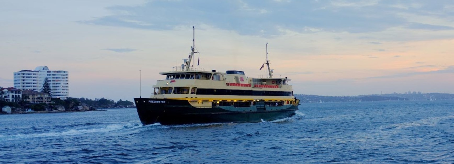 Catch a Manly Ferry for Roosters game