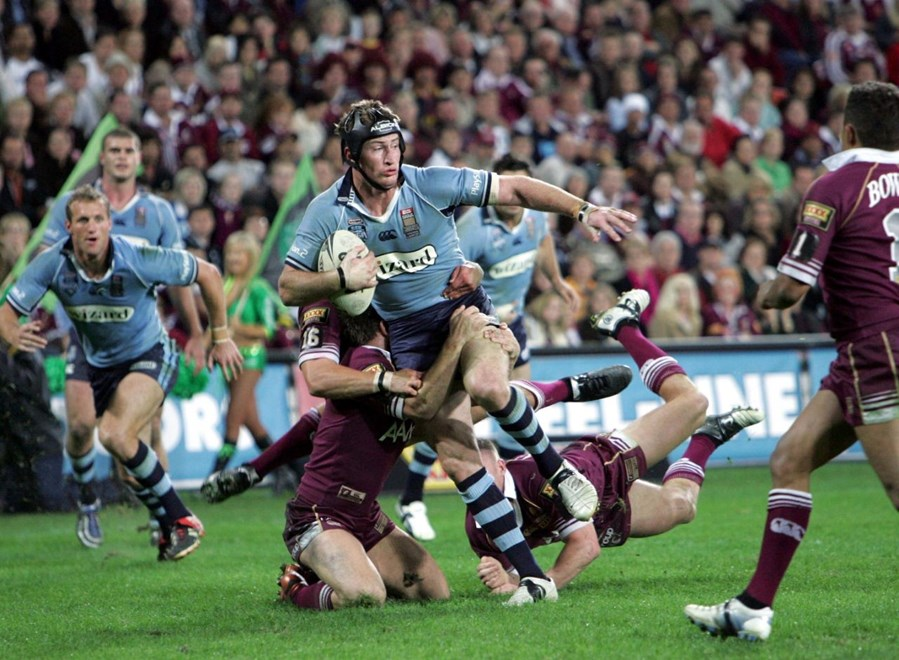 :	Representative Rugby League, State of Origin 3, NSW v QLD at Suncorp Stadium, Brisbane, Wednesday July 6th 2005. Digital image by Colin Whelan © Action Photographics.
