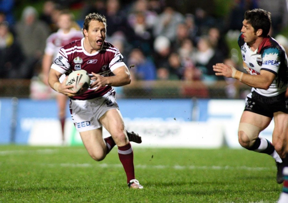 : NRL Round 21 - MAnly v Penrith @ Brookevale Oval, Friday 1st of August 2008. Digi image by Grant Trouville © Action Photographics.