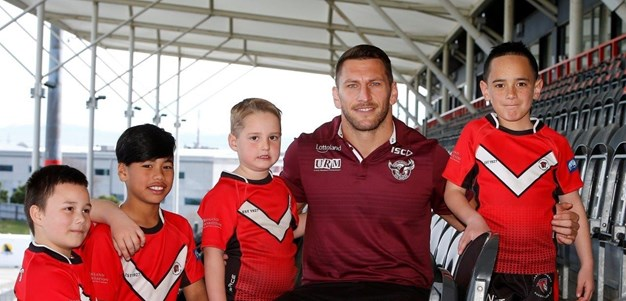 Brown proud to play 'at home'' for Manly