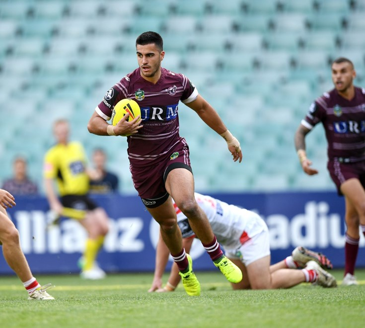 Holden Cup PF Dragons vs Sea Eagles .Picture : NRL Photos / Gregg Porteous