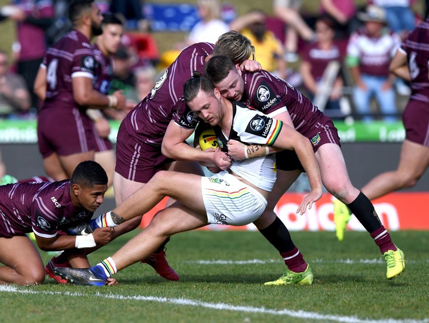 R 26 Holden Cup Manly Sea Eagles vs Penrith Panthers at Lottoland