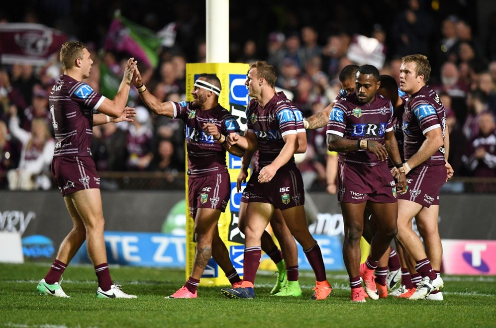 R 26 NRL Manly Sea Eagles vs Penrith Panthers at Lottoland  . Picture : Gregg Porteous