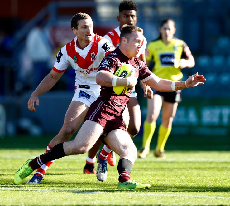 Round 20 NYC Dragons vs Sea Eagles at Win Stadium,Wollongong . Picture : Gregg Porteous