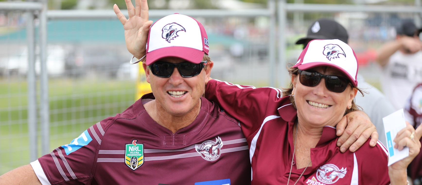 Sea Eagles fans come out in force