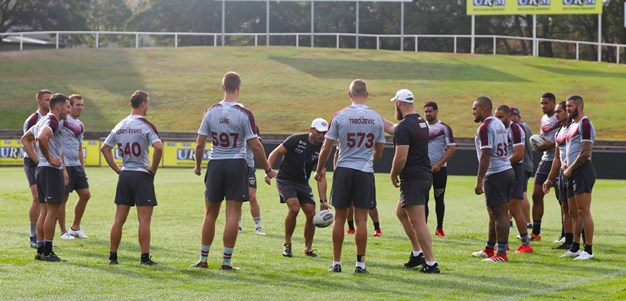 Squad reduced to 19 for Knights clash